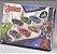Kit com 6 Carrinhos de Fricção Heroes Vingadores Toyng - Imagem 2