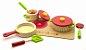 Conjunto panelas com utensílios e cooktop - vermelho - Imagem 1