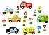 Carrinhos e placas de trânsito - Imagem 3