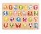 Encaixe alfabeto com pinos - Imagem 1