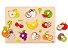 Encaixe frutas com pinos - Imagem 1