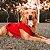 Casaco de moletom vermelho para cães e gatos | Apple - Imagem 2
