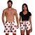 Kit Shorts Casal Masculino e Feminino Akatsuk Branco Use Thuco - Imagem 2