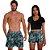 Kit Shorts Casal Masculino e Feminino Floral Thuco - Imagem 2