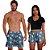 Kit Shorts Casal Masculino e Feminino Caveira & Rosa Use Thuco - Imagem 1