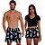 Kit Casal Dois Shorts de Praia Masculino e Feminino Vodka Use Thuco - Imagem 1