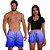 Kit Shorts Casal Masculino e Feminino Azul Degrade Use Thuco - Imagem 2