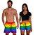 Kit Shorts Casal Masculino e Feminino LGBT Use Thuco - Imagem 2