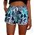 Kit Casal Short Praia Use Thuco Floral Art Cores - Imagem 2