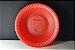 Prato Descartável 15cm Colorido Vermelho Bello Copo - Imagem 2