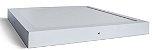 Luminária Plafon 40x40 36w LED Sobrepor Quadrado Branco Frio 6000k - Imagem 2