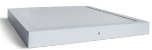Luminária Plafon 40x40 36w LED Sobrepor Quadrado Branco Quente 3000k - Imagem 2