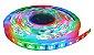 Fita LED - 5050 RGB (Colorida) - Rolo com 5 Metros - 14w  - 60 LEDs por Metro - IP65 (com Silicone) - 12V - com Controle Remoto e Fonte - Imagem 1