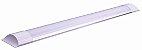 Luminária Led Sobrepor Slim 36w  120cm  Branco Frio  -  Bivolt - Imagem 1