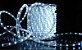 Mangueira LED Redonda Rolo com 100m Branco Frio 220v  - À prova d'água  - Imagem 2