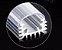 Barra de LED - 1 Metro - 18w - Branco Frio - 12v - 72 LEDs - Calha com Lente Transparente - Imagem 4