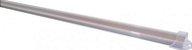 Calha com Lente Transparente para Barra de LED - 1 Metro - Imagem 1