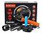 Lanterna Tática Swat 38000w Zoom Bateria Led Sinalizador + Carregador - Imagem 3