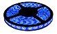 Fita LED - 3528 Azul - Rolo com 5 Metros - 4,8w  - 60 LEDs por Metro - IP65 (com Silicone) - 12V - Imagem 1