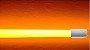Lampada LED Tubular T8 18w - 1,20m - Amarela - Imagem 1