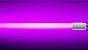Lampada LED Tubular T8 18w - 1,20m - Rosa - Imagem 1