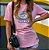 Camiseta Social Anxiety Rosa - Imagem 3