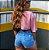 Mini Cropped Angel Rosa Estonado - Imagem 3