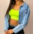 Jaqueta Jeans Cropped Jess Princess - Imagem 5