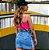 Saia Jeans Bicolor Princess - Imagem 3