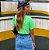 Saia Jeans Bicolor Princess - Imagem 6