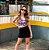 Saia Jeans Preta Elastano Princess - Imagem 1