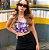 Saia Jeans Preta Elastano Princess - Imagem 3
