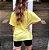 Camiseta Butterfly Amarela Princess - Imagem 2