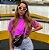 Cropped Clean Summer Roxo Neon  Estonado Princess - Imagem 1