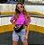 Cropped Clean Summer Roxo Neon  Estonado Princess - Imagem 2
