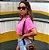 Cropped Clean Summer Rosa Neon  Estonado Princess - Imagem 2
