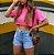 Shorts Jeans Maju Princess - Imagem 5
