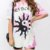 T-shirt Tie Dye Yin Yang Princess - Imagem 4