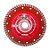 """Disco Diamantado Turbo (7"""") - Imagem 1"""