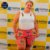 Shorts Tecido Plus Size Estampado Pink Africano  - Imagem 6