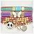 Conjunto de pulseiras infantil panda - Imagem 1