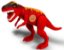 Dinossauro Tirano Rex Jurassic 43cm C/ Som- Adijomar - Imagem 2