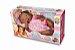 Boneca Nenenzinha Negra Atóxica Ideal Para Bebês - Divertoys - Imagem 2