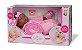 Boneca Bebês Coleção - Sons Bebê - Negra - 44cm - Divertoys - Imagem 8