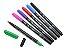 Caneta Dual Brush - Aquarelável - 6 cores - Cis  - Imagem 2