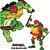 Figuras de Ação - Tartarugas Ninjas - Raphael - 12cm -Sunny - Imagem 3