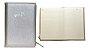 Caderno Pautado com Estojo - Prata - 80 Folhas - 80g - Bee Unique  - Imagem 2