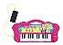 Teclado Glamouroso - Linha Musical Barbie - Fun - Imagem 2