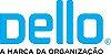 Pasta Fichário - c/ 4 Argolas - Acompanha Estojo - Azul astel - Dello  - Imagem 5