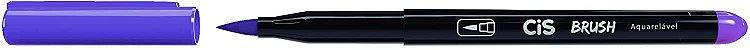 Kit Canetas Brush Pen - Aquarelável - 6 Cores Básicas - Cis  - Imagem 5